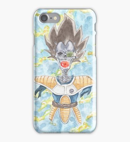 The Prince Returns - DBZ iPhone Case/Skin