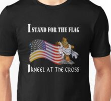 Stand For The Flag Kneel At The Cross  Unisex T-Shirt