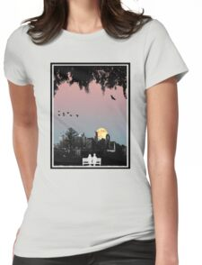 Dornoch Terrace Moonrise Womens Fitted T-Shirt