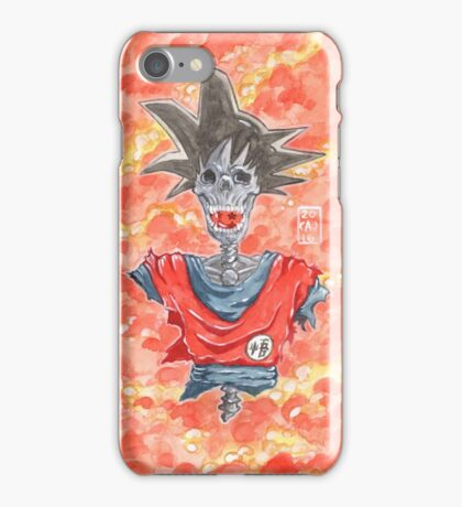 Fall of the Hero - DBZ iPhone Case/Skin