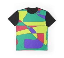 Funky Colours Graphic T-Shirt