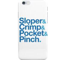 Sloper & Crimp & Pocket & Pinch iPhone Case/Skin