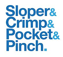 Sloper & Crimp & Pocket & Pinch Photographic Print