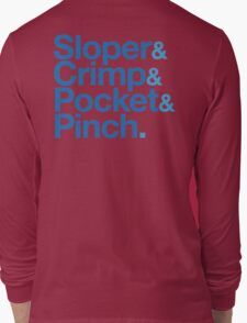 Sloper & Crimp & Pocket & Pinch Long Sleeve T-Shirt