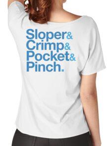 Sloper & Crimp & Pocket & Pinch Women's Relaxed Fit T-Shirt