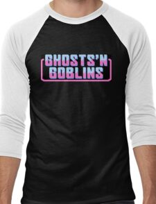 GHOSTS'N GOBLINS [version C] Men's Baseball ¾ T-Shirt