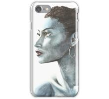 Black and Blue iPhone Case/Skin