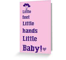 Dave Matthews Band Nursery Room Typography Greeting Card