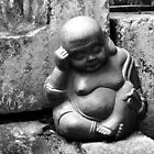 Laughing Buddha Naps © by Ethna Gillespie