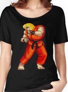 Street Fighter 2 Ken Women's Relaxed Fit T-Shirt