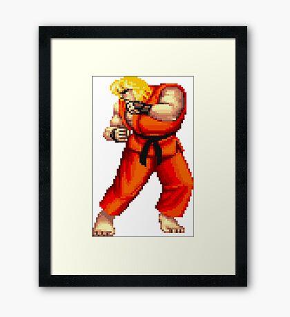 Street Fighter 2 Ken Framed Print