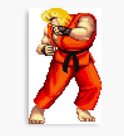 Street Fighter 2 Ken Canvas Print