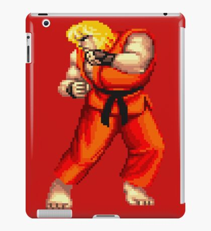 Street Fighter 2 Ken iPad Case/Skin