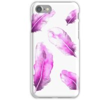 Pink Feathers iPhone Case/Skin