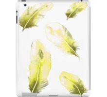 Citrus Feathers iPad Case/Skin