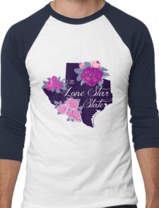 State Sayings - Texas is the Lone Star State Men's Baseball ¾ T-Shirt