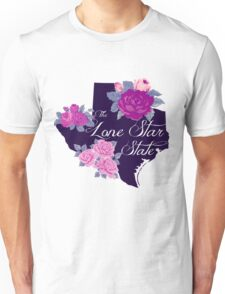 State Sayings - Texas is the Lone Star State Unisex T-Shirt