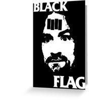 Manson Flag Greeting Card