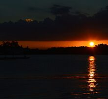 A Dark Sunset by AngelaHRey