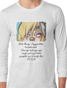 she got them badonkadonks Long Sleeve T-Shirt