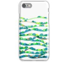 Summer Valleys Abstract Watercolor iPhone Case/Skin