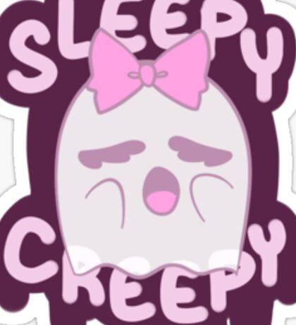 Sleepy & Creepy Sticker