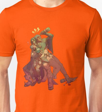 Group Hug with some extreme meh on the side Unisex T-Shirt