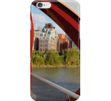 View from Peace Bridge iPhone Case/Skin