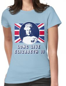 Long Live Queen Elizabeth II Womens Fitted T-Shirt