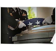 Military Funeral Poster