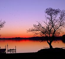 Little Waverly Lake at Sunset by Robert Meyers-Lussier
