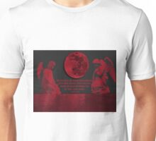 ><{{{*> PROPHETIC SIGN FOR ISRAEL BLOOD MOONS>ISRAEL WILL PREVIAL AS PROMISED ..>PICTURE AND OR CARD        ><{{{*>      Unisex T-Shirt