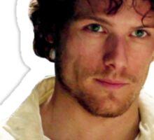 Jamie Fraser Je Suis Prest Sticker