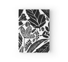 Nature fantasy world, Linocut art Hardcover Journal
