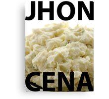 100% Authentic John Cena Shirt Canvas Print