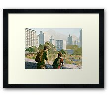 The Last of Us - Can't Deny the View Framed Print