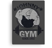 Johnny Gym Canvas Print