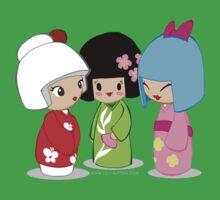 Kokeshi Dolls Kids Clothes