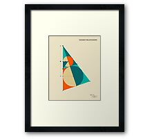 TANGENT RELEATIONSHIPS Framed Print