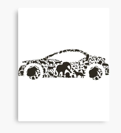 Car An Animal Canvas Print