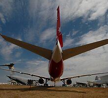 Boeing 777, Avalon Airshow, Victoria, Australia 2009 by muz2142