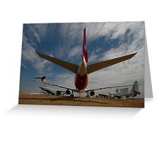 Boeing 777, Avalon Airshow, Victoria, Australia 2009 Greeting Card