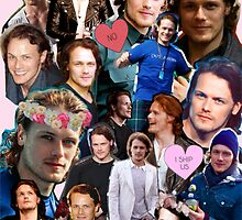 Sam Heughan Collage by jvmiefraser