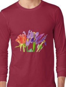 Colourful Bouquet Long Sleeve T-Shirt
