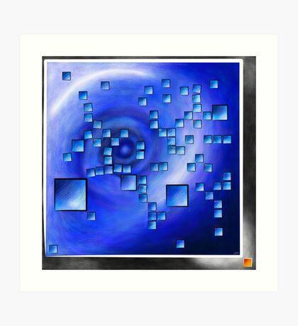 Nepheros V1 - planet square Art Print