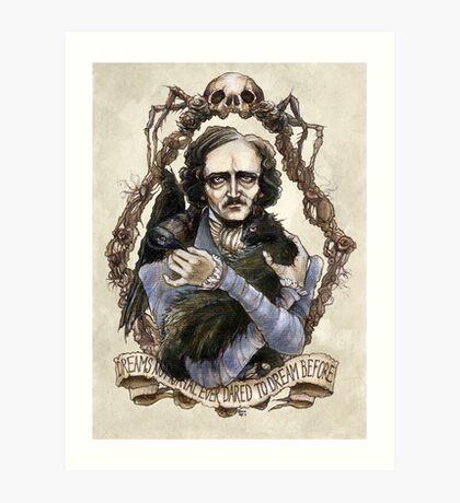 Edgar Allan Poe & Friends Art Print
