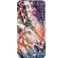 Surreal Fantasy Carousel Horses Colorful iPhone Case/Skin