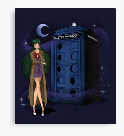 Sailor Time Lord Canvas Print