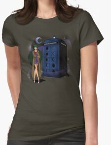 Sailor Time Lord Womens Fitted T-Shirt
