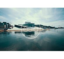 The Opera House - Oslo, Norway Photographic Print